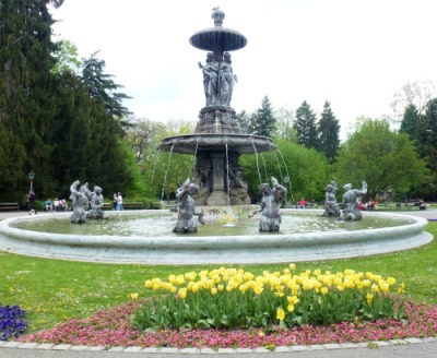 Fountain Stad Park Graz