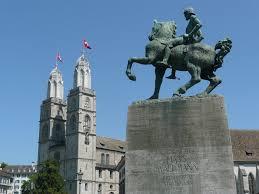 zu bronze statue