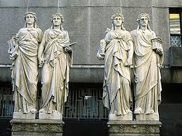 dus four caryatids
