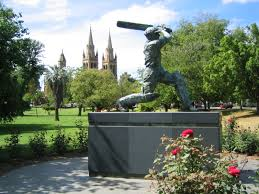 ad statue of don bradman
