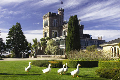 Larnach Castle, Otago Peninsula, Dunedin, South Island, New Zealand