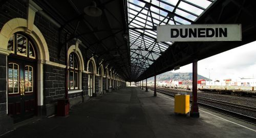 dun railway platform