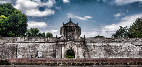 man fort santiago