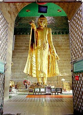 man Buddha on Mandalay Hill