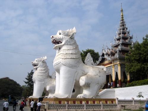 man Chinthe,_Mandalay_Hill,_Myanmar