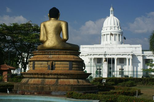 col city hall buddha