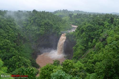 mum sanjay waterfall