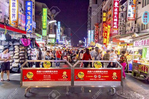 ka-liuhe-night-market-kaohsiung-taiwan-stock-photo
