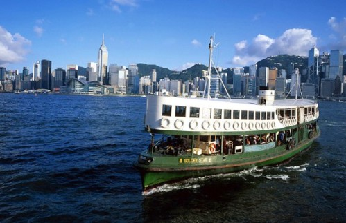 hong-hong-kong-star-ferry-sunshine