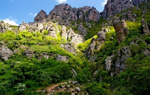 The Demerdzhi Mount, Ghost Valley tourism destinations