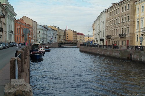 St. Petersburg, water way.