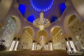 abu grand mosque prayer hall