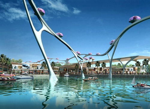 Lulu Island Development Plan; Abu Dhabi; United Arab Emirates; 2