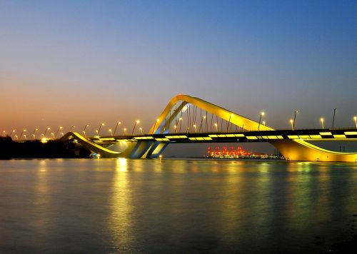 abu sheikh zayed bridge