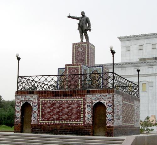 Lenin in Ashgabad
