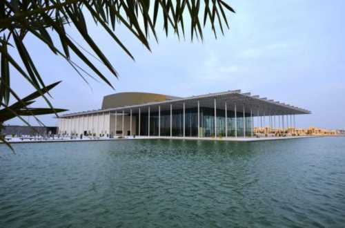 bah National Theatre of Bahrain by Architecture Studio02