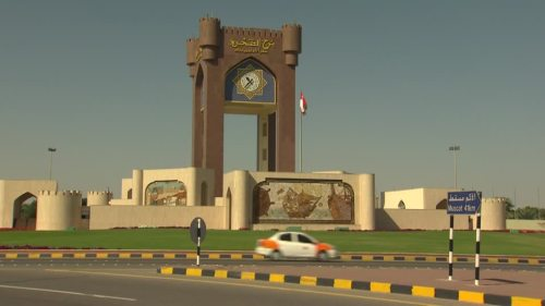 oman clock tower