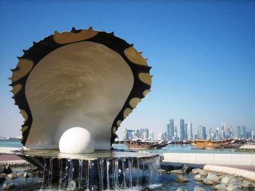 qatar pearl monument
