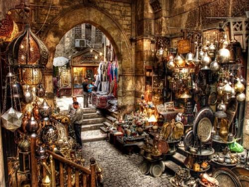 cairo old bazaar