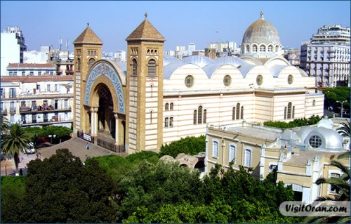 oran cathedral sacre couer
