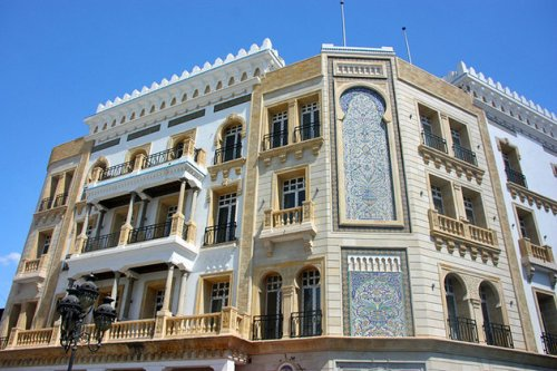 tunis-new-town-building-facade