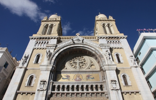 tunis vincent cathedral