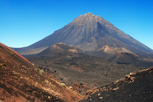 cape Pico_do_Fogo_volcano_in_Cape_Verde