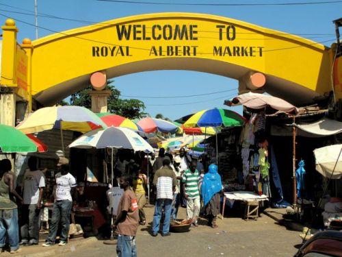 gambia albert market