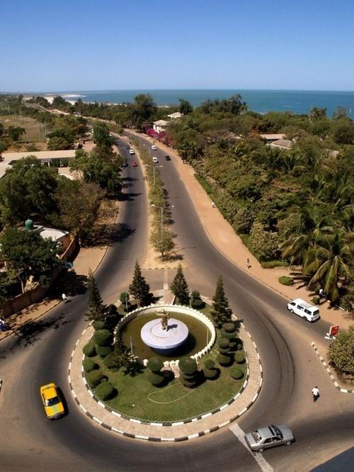 gambia banjul roundabout