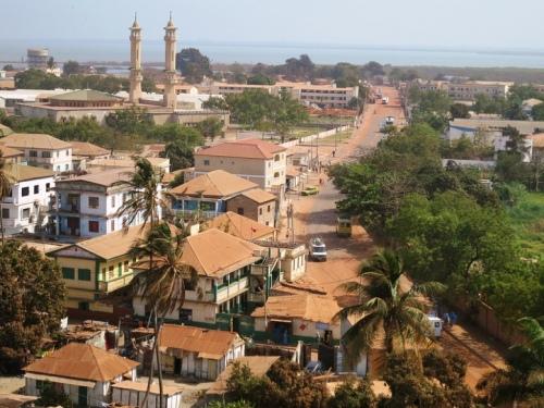 gambia banjul-skyline