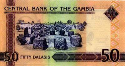 gambia wassau stone circles money