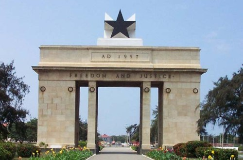 ghana independence arch