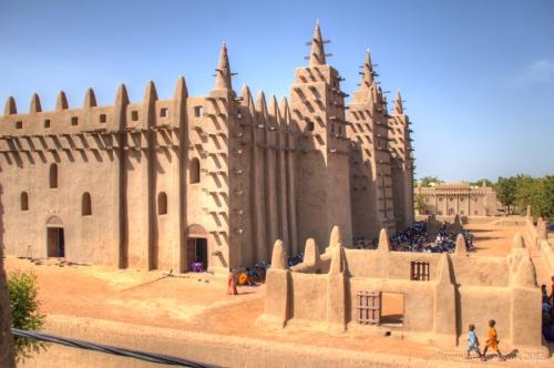 mali Grand-Mosque-Djenne-Mali