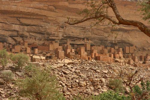mali mopti bandiagara escarpment