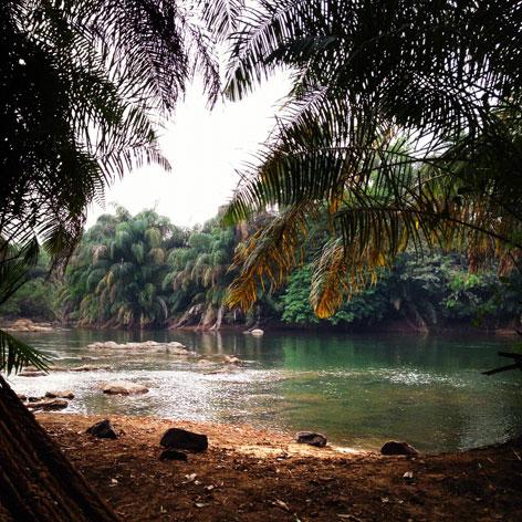 Tiwaii Island, Sierra Leone, West Africa