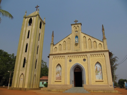 togo togoville german cathedral