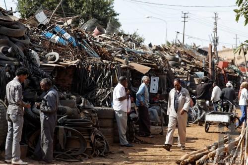 Medebar Market. Asmara. Eritrea. Africa.