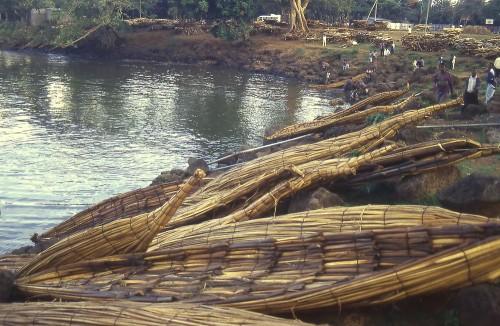 ethi bahar dar papyrus boats