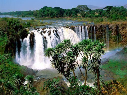 ethi blue nile falls