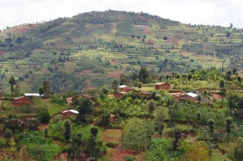 rwanda huye mountain