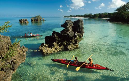 Sea Kayaking. Pemba Island. Zanzibar Tanzania