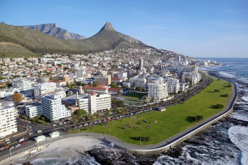 cape clifton beach sea point promenade