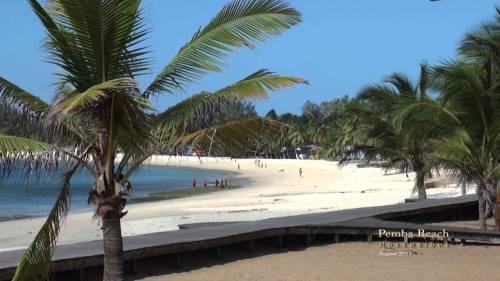 moza pemba beach
