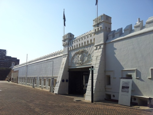 south africa Old_Fort_Entrance_(from_the_inside)