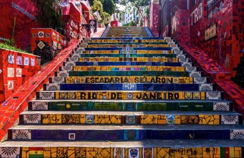 rio escadaria