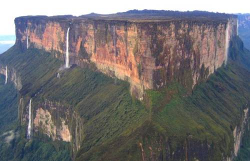 guy mount-roraima-waterfalls