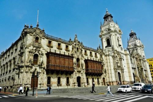 lima Archbishops-Palace-of-Lima-Peru