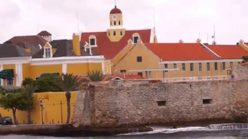 curacao fort amsterdam