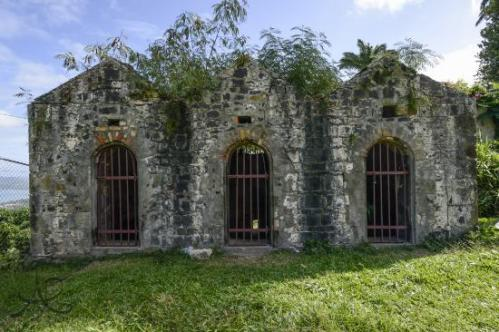 lucia castries fort-charlotte-jail-in