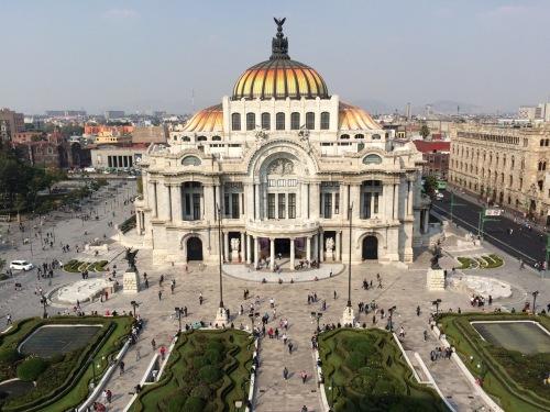 mexico belle arte palacio